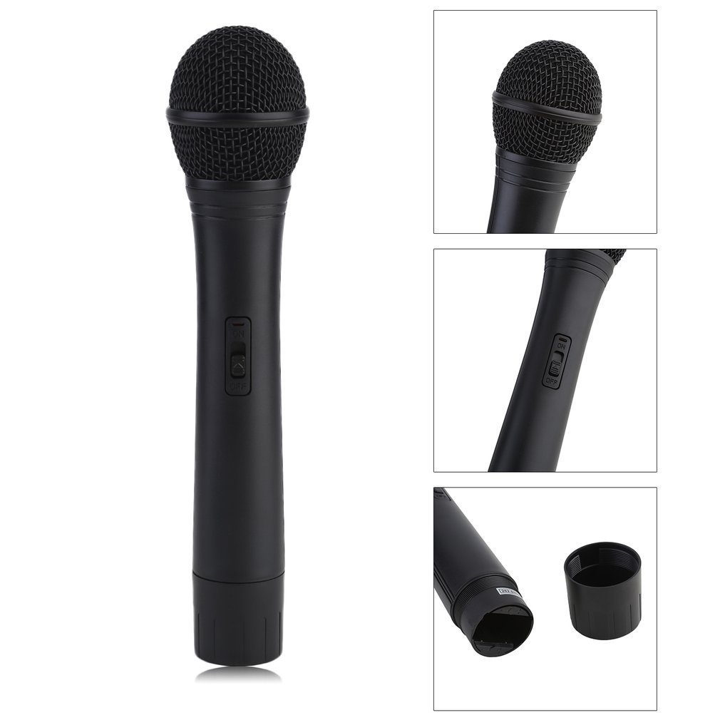 RODIGS Wireless Dual HandHeld Microphone Mic System For Outdoor Wedding Conference Karaoke... by Generic