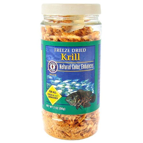 San Francisco Bay Brands San Francisco Bay Brand Freeze Dried Krill 2 Ounce   56 Grams by San Francisco Bay Brands