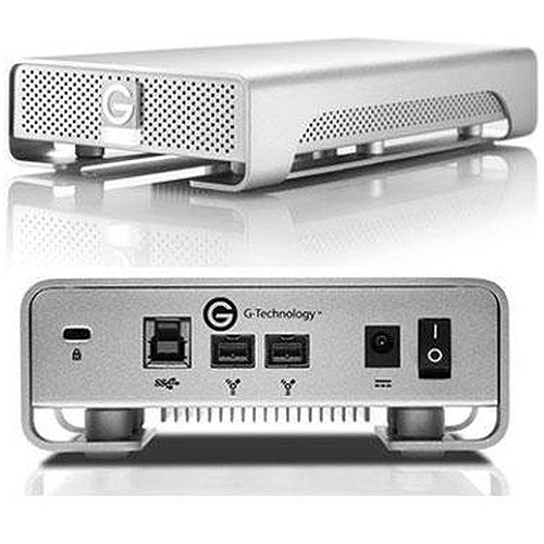 G-TECH G-Drive Slim USB 3.0 500GB Silver PA 0G02361