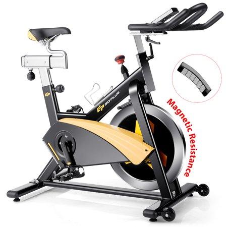 Goplus Magnetic Exercise Bike Stationary Belt Drive Cycling Bike - image 10 of 10
