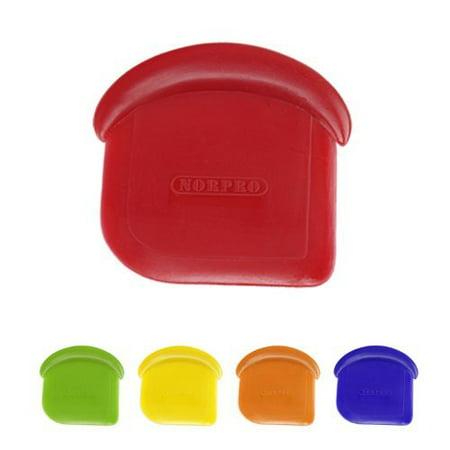 Nylon Pan Scraper - My Favorite Nylon Pan Scraper Set of 4, Nylon Pan Scraper Set of 4 By Norpro