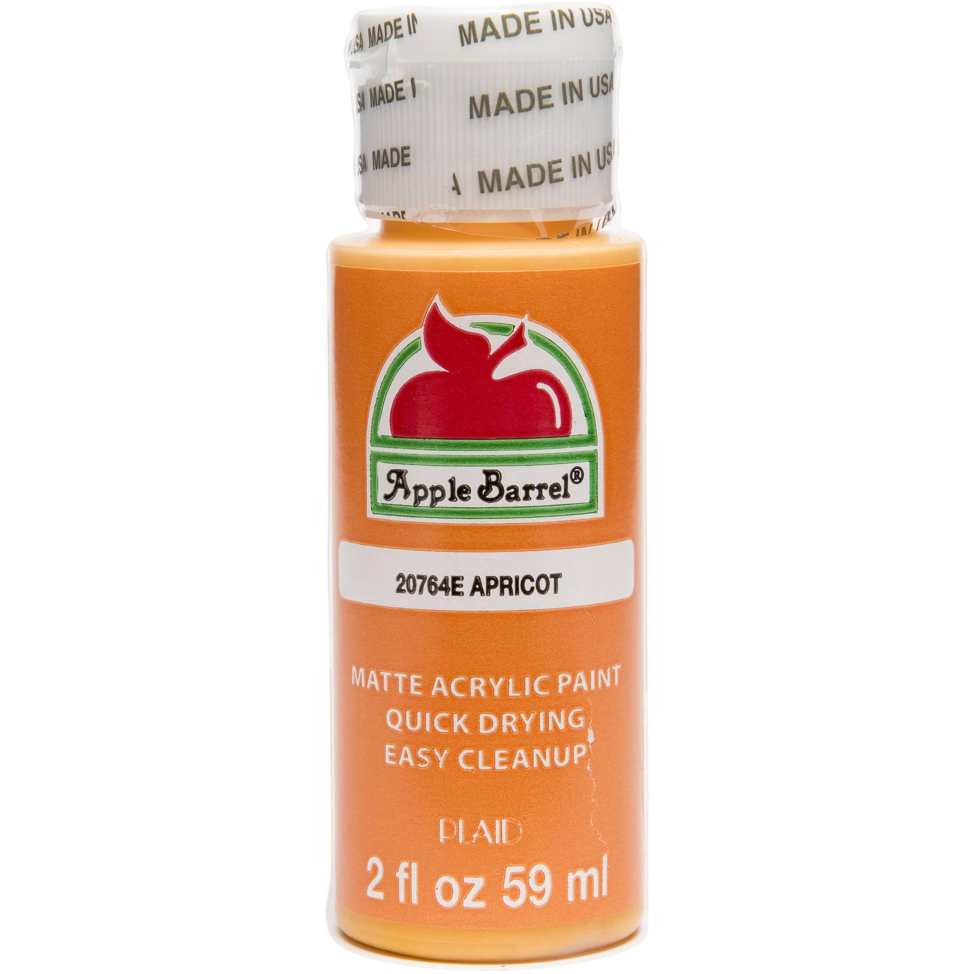 Apple Barrel Colors, 2 oz Apricot Orange Paint