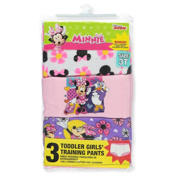 b4b814a647 Minnie Mouse - Minnie Mouse Toddler Girls  Training Pants