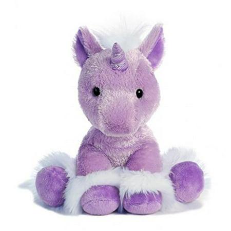 Aurora World Dreaming of You Unicorn Plush, Purple, Small](Unicorn Plushie)