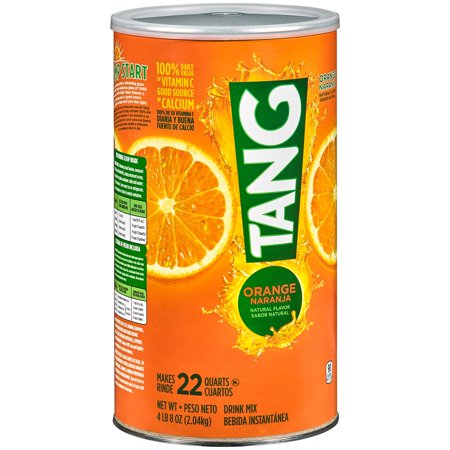 Tang Drink Mix, Orange, 72 Oz, 1 Count