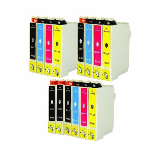 Replacement Epson 69 T069 T069120 T069220 T069320 T069420 Compatible Ink Cartridge (Pack Of 14 :5K/3C/3M/3Y)