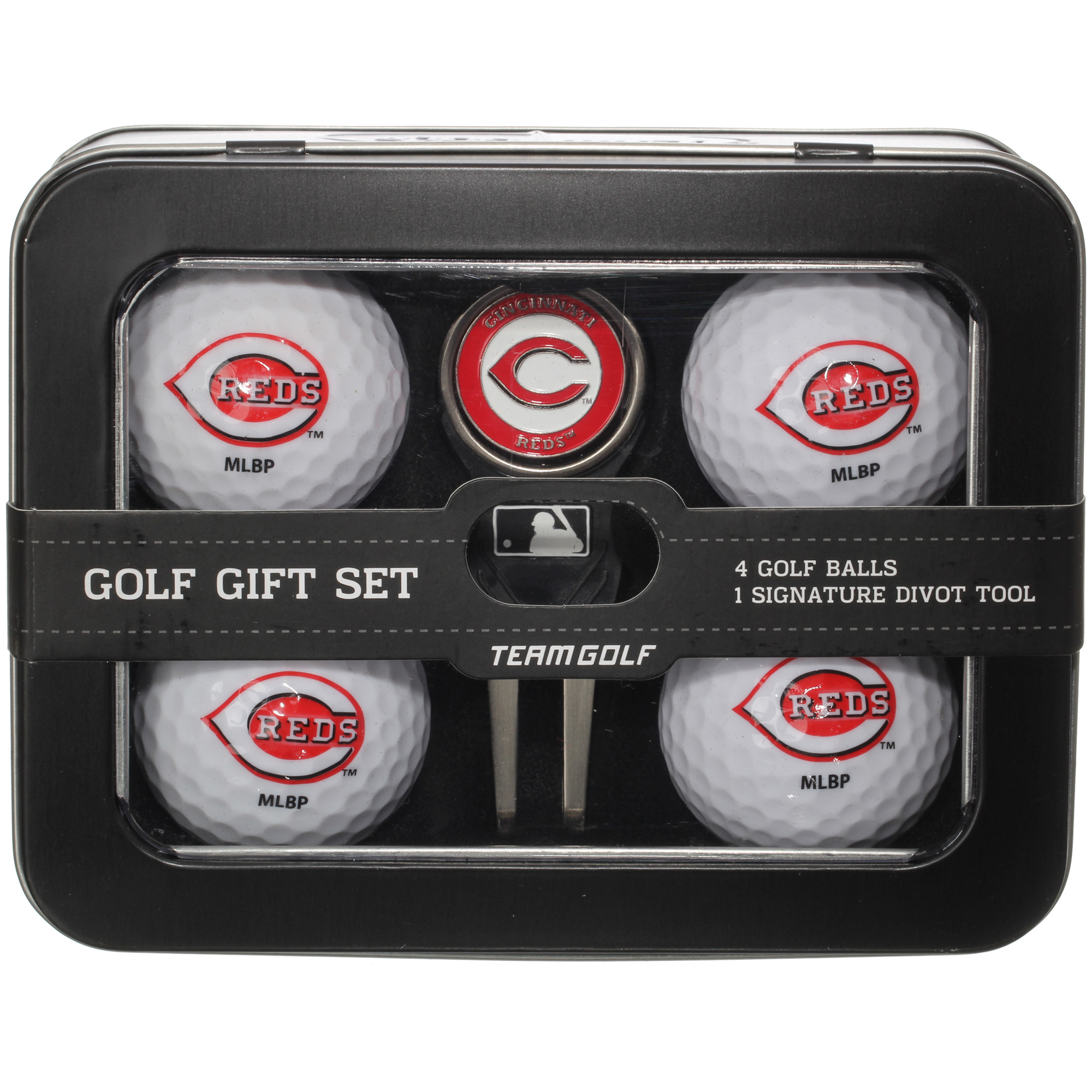 Cincinnati Reds 2016 4 Golf Ball and Divot Tool Set - No Size