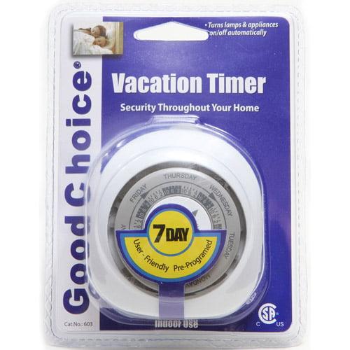 Good Choice Vacation/Holiday Timer