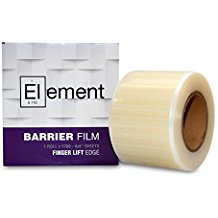 Element CLEAR Barrier Film Roll with Dispenser Box - 1200 perforated 4x6 Sheets