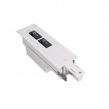 wac lighting whedr-rtl-1a-bk 277v w recessed track flangeless live end right current (Corner Track Current Limiter)