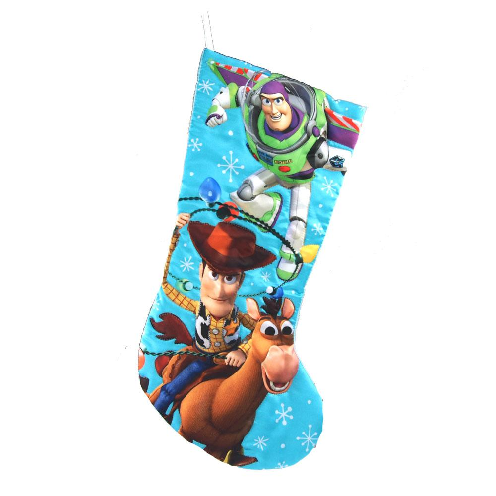 Toy Story Satin Christmas Stocking, 19-Inch