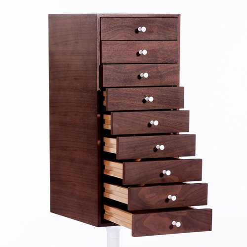 Tower 9 Drawers Lingerie Chest