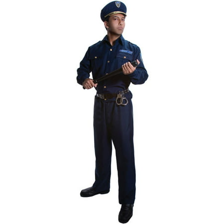 Police Adult Halloween Costume - Lego Police Halloween Costume