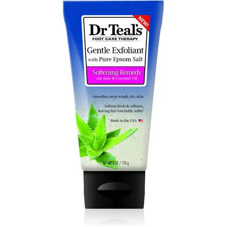 Sea Minerals Foot Scrub - Dr Teal's Exfoliant Foot Scrub Epsom Salt, 6 oz.