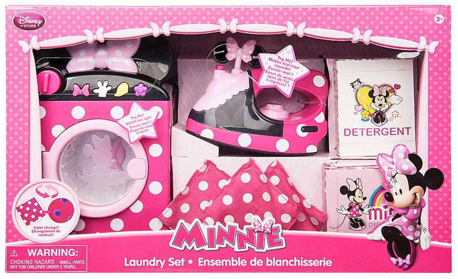 Disney Minnie Mouse Laundrey Set by