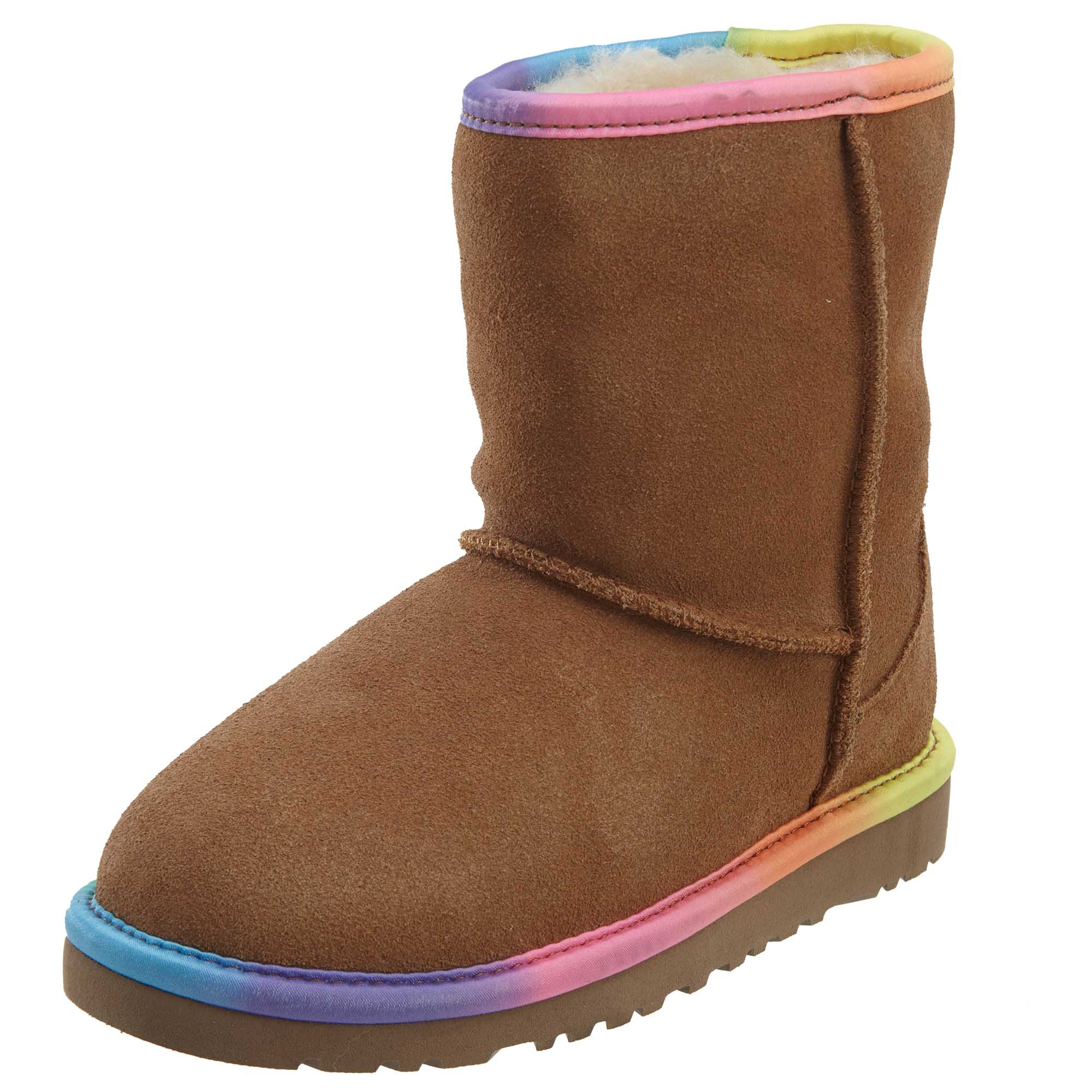 Ugg Classic Short Rainbow Boots Toddlers Style : 1006063t