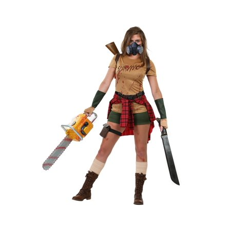 Women's Zombie Survivor Costume](Survivor Costume)