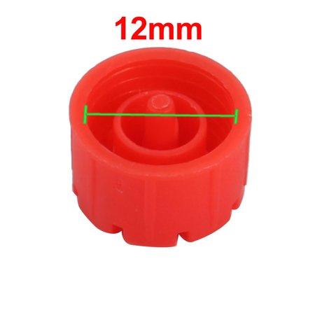2pc 8-trous Arroseur Irrigation goutteur émetteur réglable Remplacer bouchon - image 1 de 2