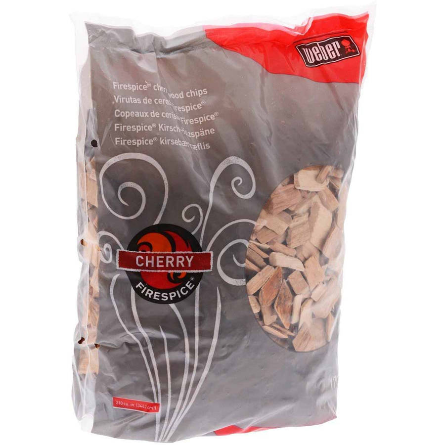 Weber Cherry Wood Chips, 3 lb