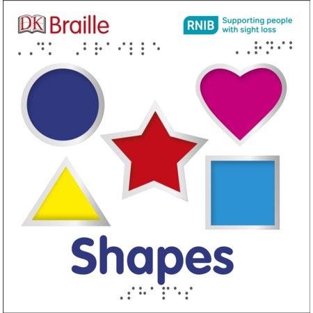 Braille Sticker (DK Braille Shapes (Board book) )