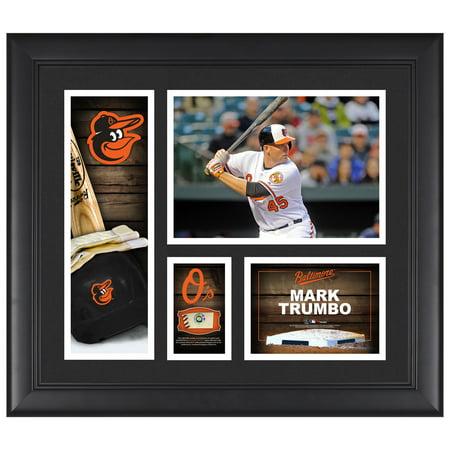 Mark Trumbo Baltimore Orioles Framed 15