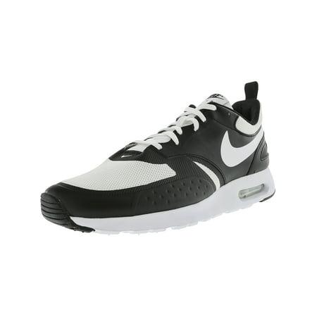 bc390370465 Nike Men s Air Max Vision White   - Black Low Top Cross Trainer Shoe ...