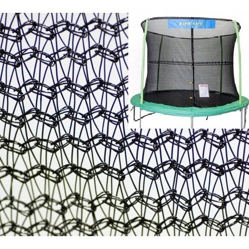 JumpKing 15' Round Trampoline Net Using 4 Poles