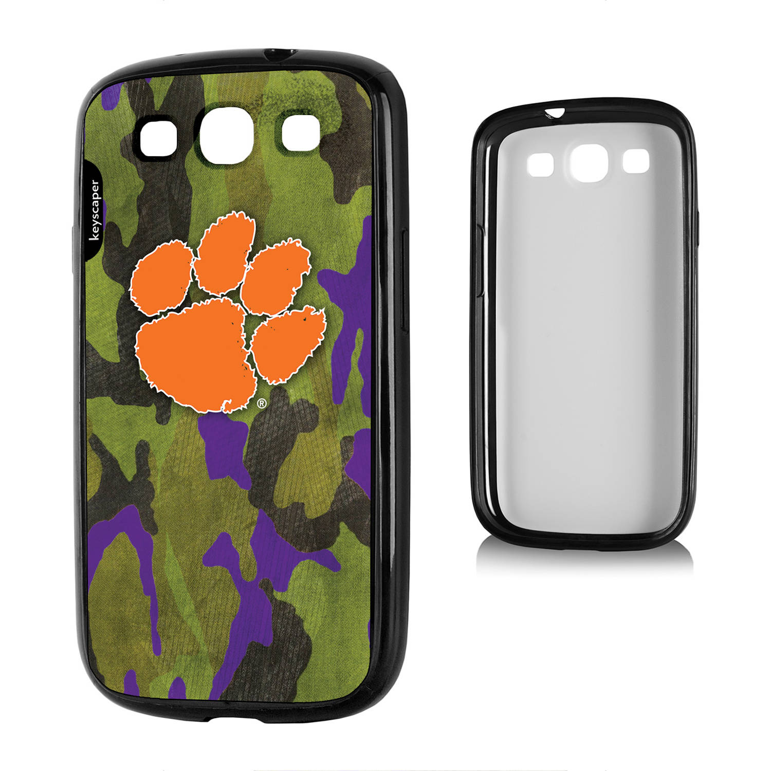 Clemson Tigers Galaxy S3 Bumper Case