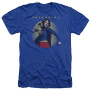 Supergirl Classic Hero Mens Heather Shirt