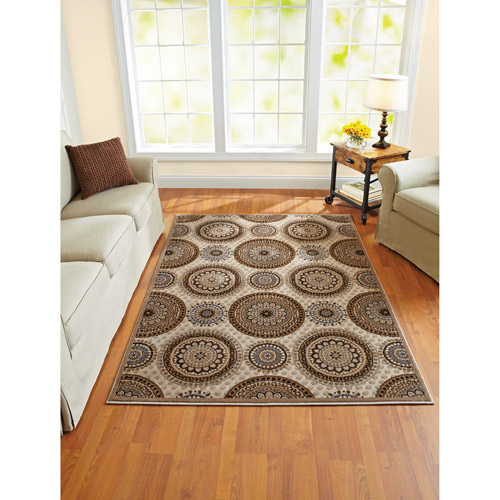 Better Homes and Gardens Suzani Woven Polypropylene Rug, 5' x 7'