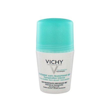 Vichy 48H Intensive Anti-perspirant Deodorant Roll-on, 1.69 Oz
