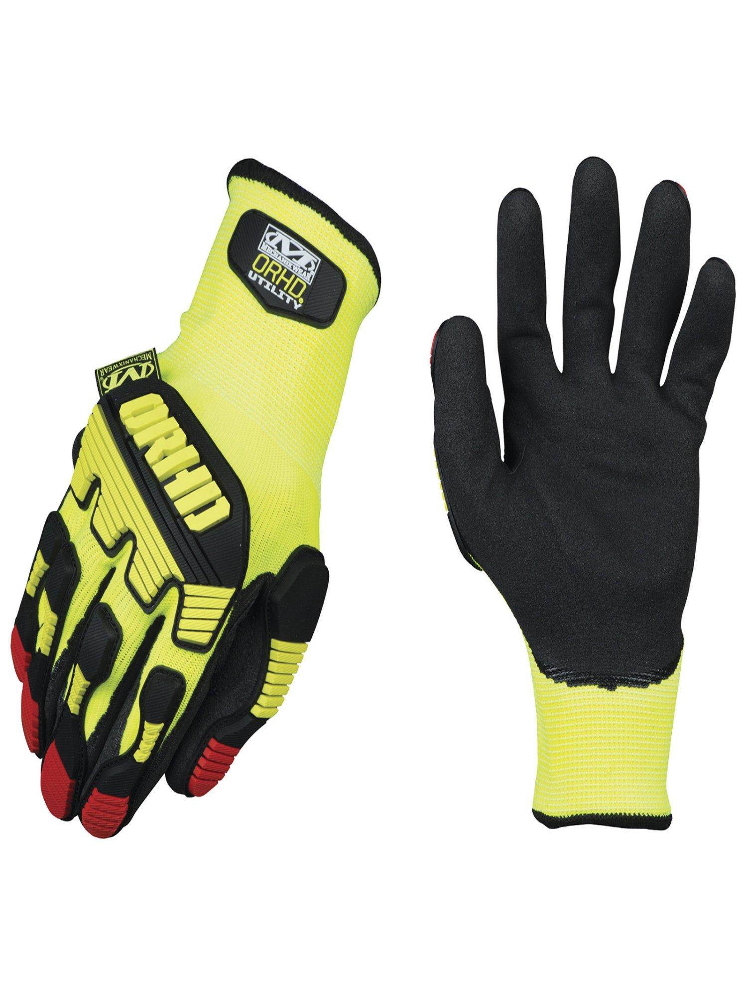 Mechanix Wear Hi-Viz Yellow ORHD Knit Utility Gloves