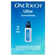 One Touch Ultra Control Solution Vials, 2 count