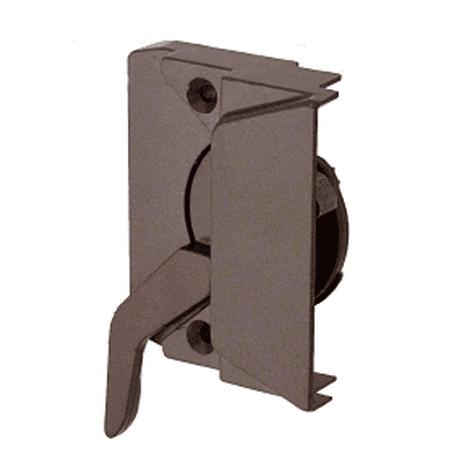 CRL EP23048 Bronze Right Hand Casement Window Lock with 2-3/8