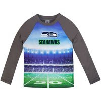 Toddler Gerber Gray Seattle Seahawks Long Sleeve Stadium T-Shirt
