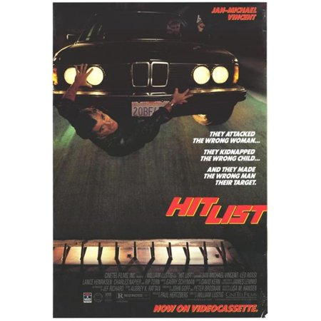 Posterazzi MOVIH4710 Hit List Movie Poster - 27 x 40 in. - image 1 de 1
