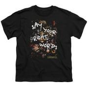 Labyrinth Right Words Big Boys Shirt