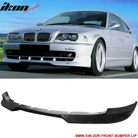 Fits 99 03 Bmw E46 2dr Coupe H Style Front Bumper Lip Urethane