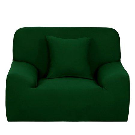 Stretch Chair Sofa Covers 1 2 3 4 Seater Dark Green Chair