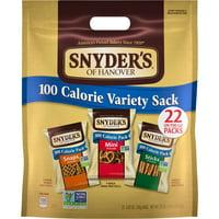Snyder's of Hanover 100 Calorie Pretzel Variety Pack, 22 Ct.