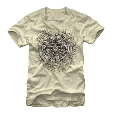 Aztlan Men's Aztec Calendar Stone T-Shirt