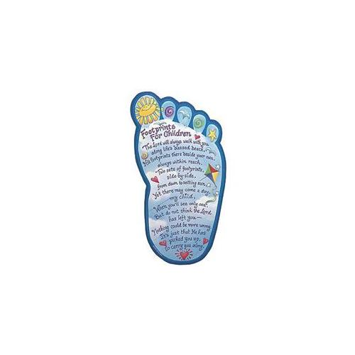 Image of Plaque-Footprints For Children