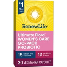 Probiotics: ReNew Life Ultimate Flora Probiotic Women's Care