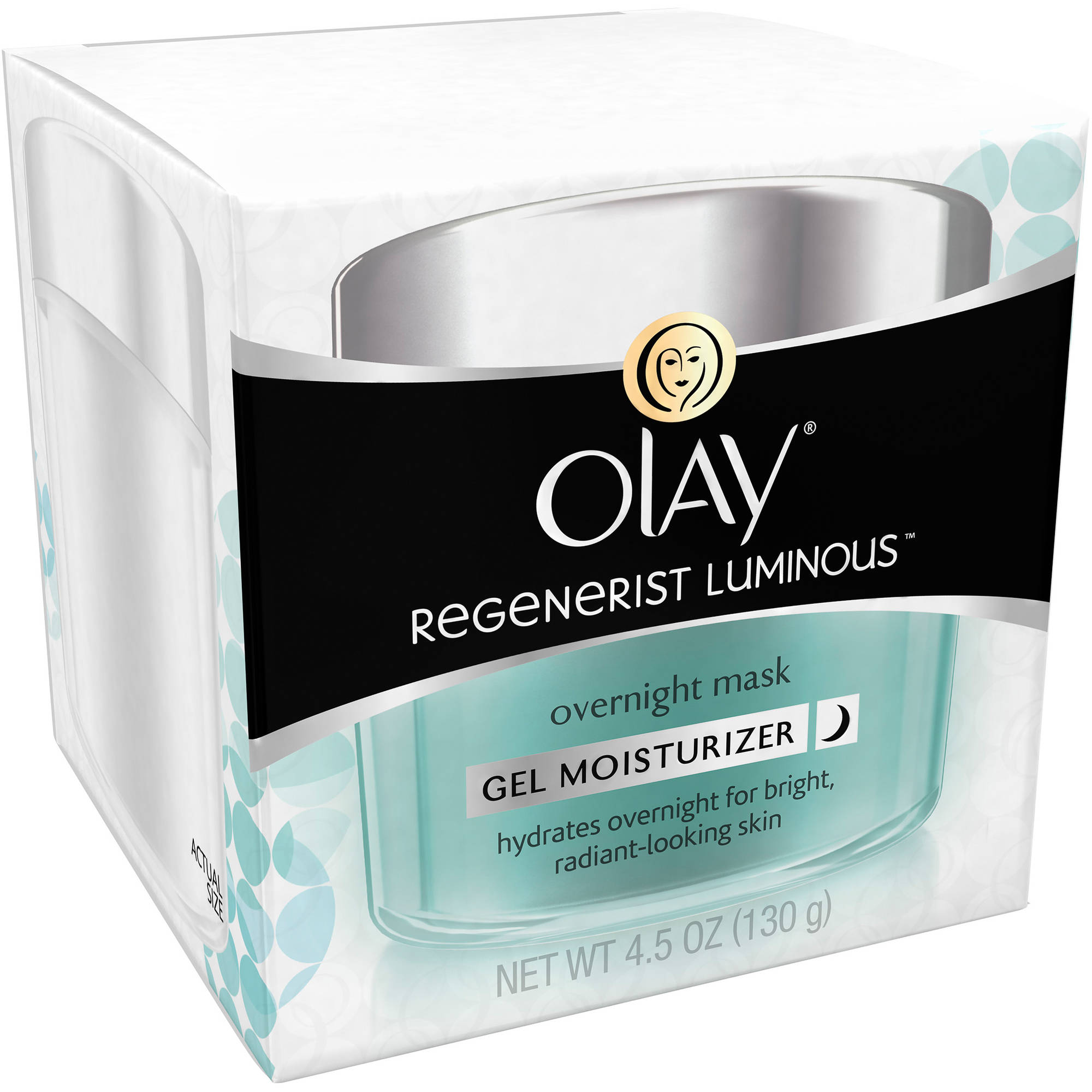 Olay Regenerist Luminous Overnight Mask Gel Moisturizer, 4.5 fl oz