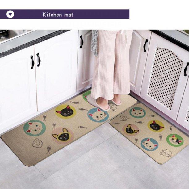 Angmile Non Skid Waterproof Kitchen Floor Mats Cushioned Comfort Standing Mats Stain Resistant Easy Clean Comfort Heavy Duty Standing Mats Walmart Com Walmart Com