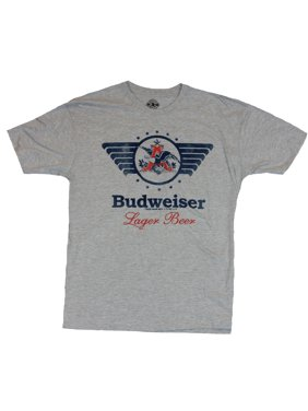 3ef84b3b4ea1e Product Image Budweiser Mens T-Shirt - Winged Eagle A Lager Beer Image
