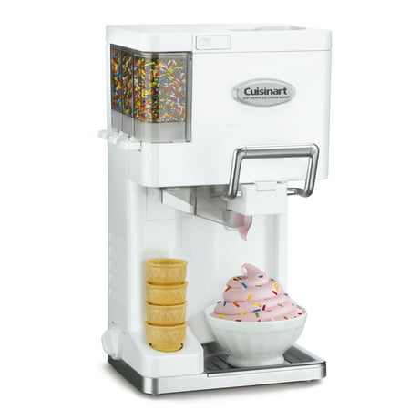 Cuisinart ICE-45 Mix It In Soft Serve 1-1/2-Quart Ice Cream Maker, (Best Grocery Store Ice Cream)