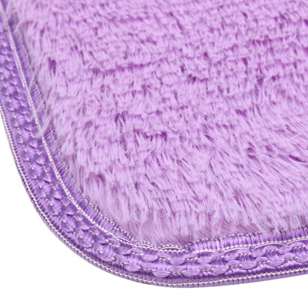 Meigar Fluffy Rugs Floor Mat Indoor Modern Shag Shaggy Area Silky Smooth Rugs Anti-Skid Rug Dining Room Home Bedroom Carpet Floor Mat Floor Couches - image 4 of 4