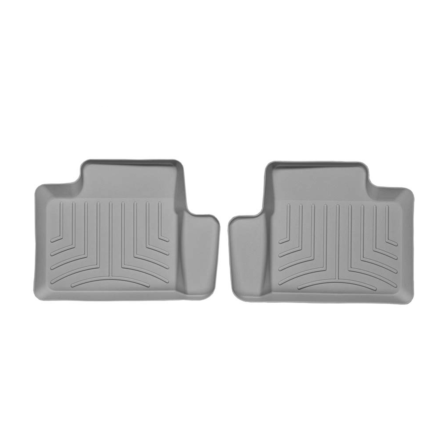 Weathertech (USA) WTC461414 Floor Liner DigitalFit (R) Molded Fit; Raised Channels With A Lower Reservoir; Gray; High-Density Tri-Extruded Material; 1 Piece - image 1 de 1