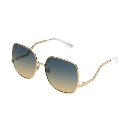 Foster Grant Women's Gold Square Sunglasses (Good Sunglasses For Women)